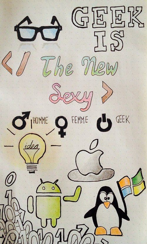 Geek is the new sexy!