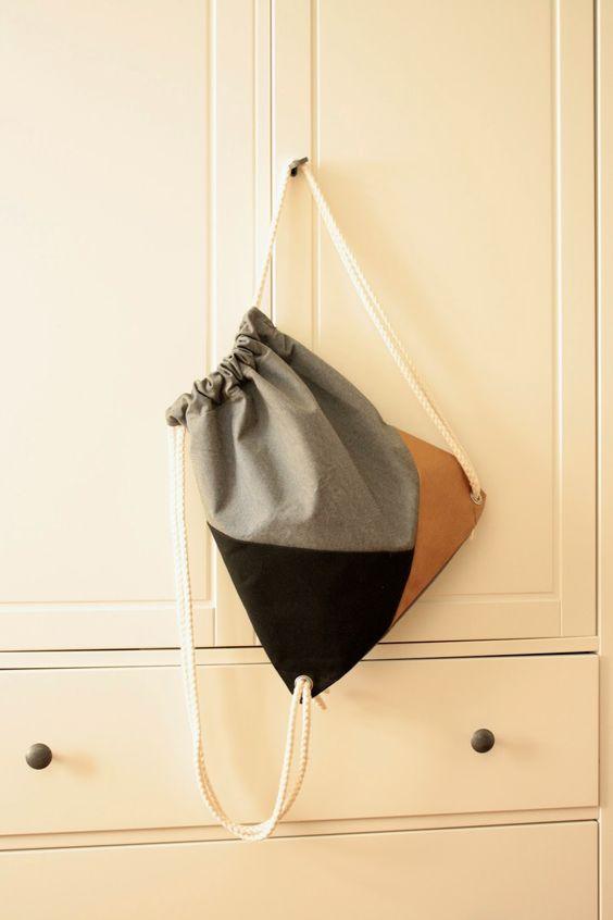 Turnbeutel - Gymbag - DIY: