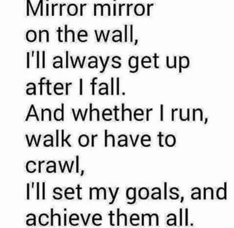 how to put a mirror on the wall