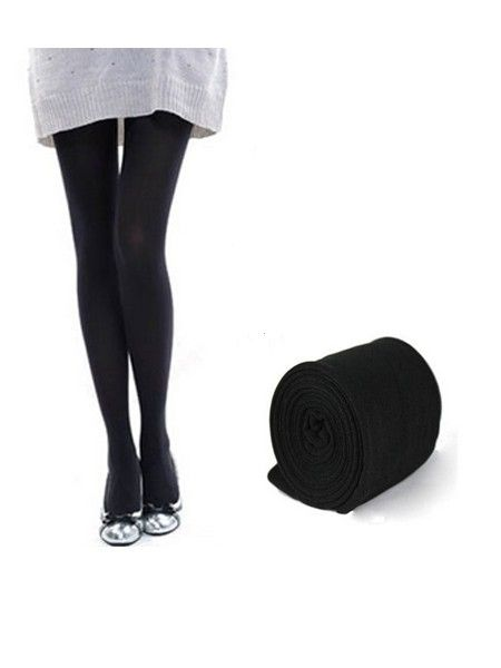 Women's Leggings Thickening Charcoal Brushed Pantyhose