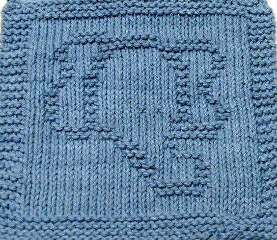 Knitting Cloth Pattern - ELEPHANT FACE - PDF Elephant face, Knitting and Pa...