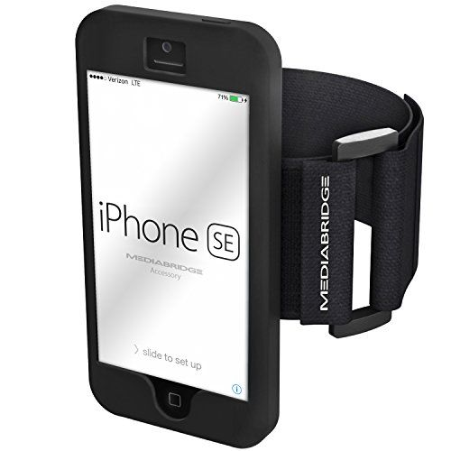 Armband for iPhone SE / iPhone 5S / iPhone 5 (Black) - Mo...