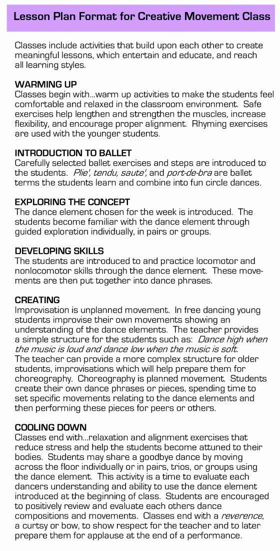Dance Lesson Plan Templates Lovely Dance Lesson Plan Format Flowersheet Lesson Plan Format Editable Lesson Plan Template Lesson Plan Templates