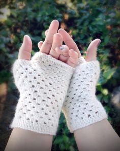 Délicat Gants Crochet Fingerless (Un modèle gratuit) - Crochet gratuit