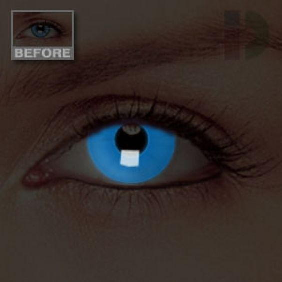Glow, Dark and Coloured contact lenses on Pinterest
