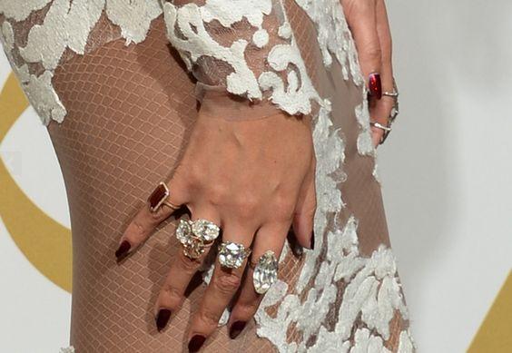 Beyonce's Grammy jewels