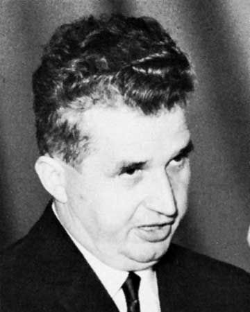 Nicholae Ceausescu was the Communist leader of Romania from 1965 to 1989, and he was the harshest dictator in Communist Europe since Stalin. He was shot in 1989, and his death ended the worst of communism.  -BD