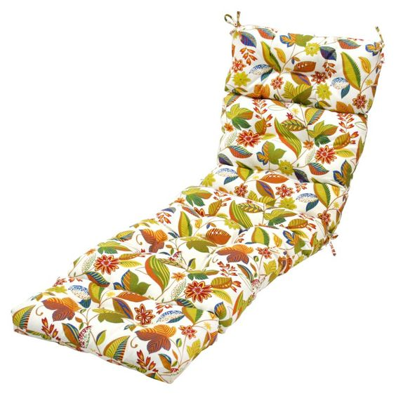 Greendale Home Fashions 72 x 22 in. Outdoor Chaise Lounge Cushion