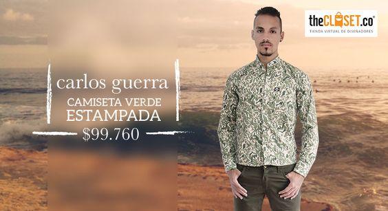 Diseños exclusivos, estilos únicos, encuentra la camisa perfecta para ti en #TheClosetco Carlos Guerra ¡Amamos lucir diferente! #RedDeDiseñadores #DiseñoIndependiente
