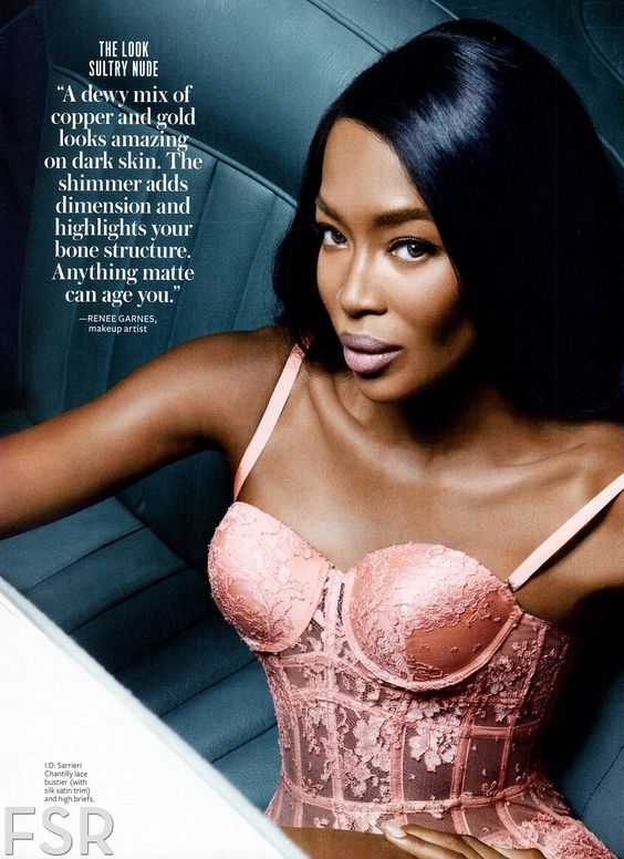 Naomi in Instyle mag