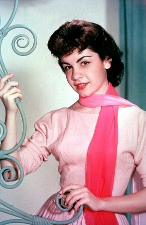 Annette Funicello 1950s -- I never missed the Mickey Mouse Club!