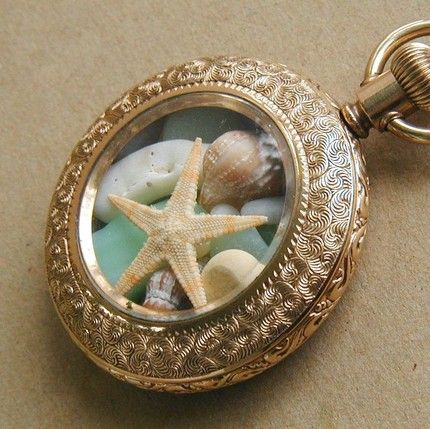 This with certain shells we have collected from different beaches would be cute as gifts for the girls.