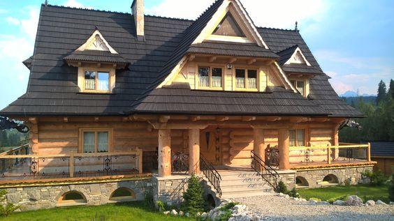 Bukowina Tatrzańska - Dom pod smokami.1