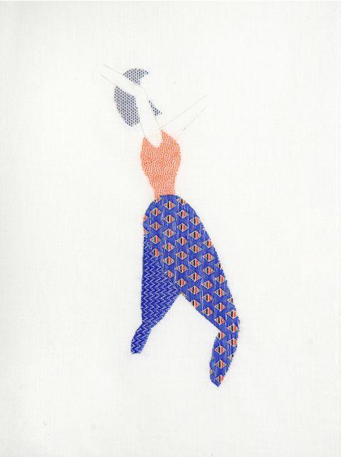 guillermina baiguera embroidered illustrations
