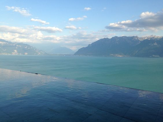 Not far away from Lausanne amazing view
