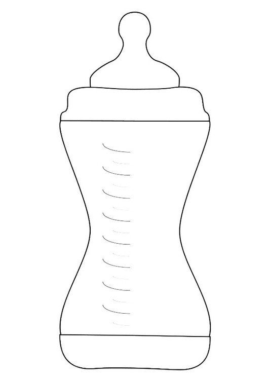 Baby Bottle Coloring Page Coloring Page Feeding Bottle Free Printable Coloring Pages In 2020 Baby Bottles Halloween Baby Shower Baby Bottle Warmer