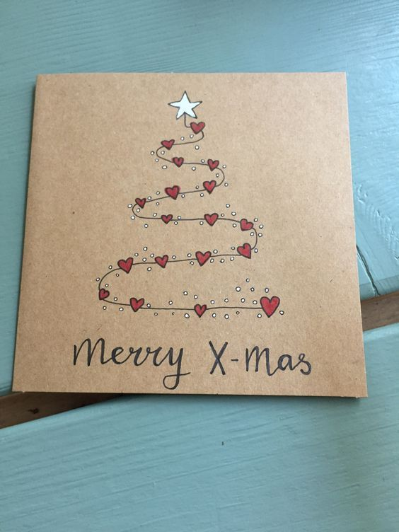Easy Diy Christmas Card Ideas You Ll Want To Send This Season Penny Crafters In 2020 Christmas Cards Handmade Easy Christmas Diy Diy Christmas Cards