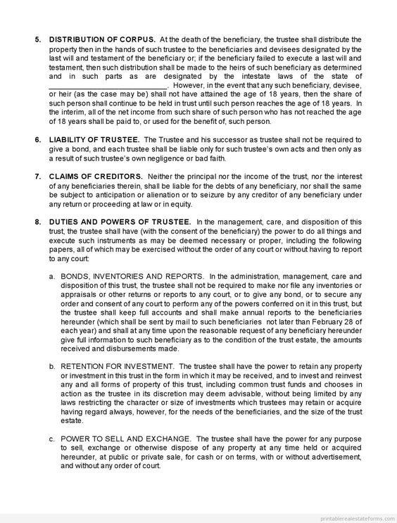 Free Agreement with Mutual Releases Printable Real Estate Document - Mutual Agreement Template