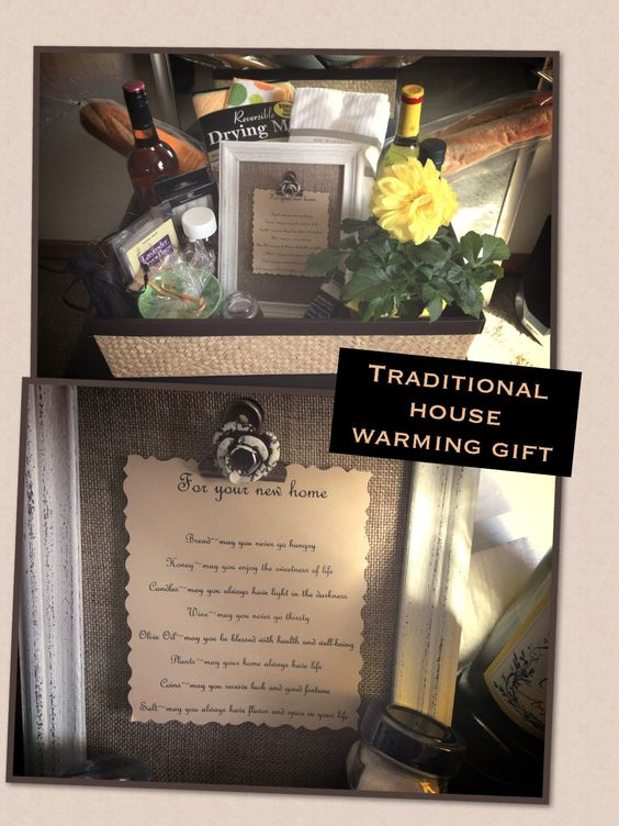 A Traditional House Warming Gift Created By Melissa
