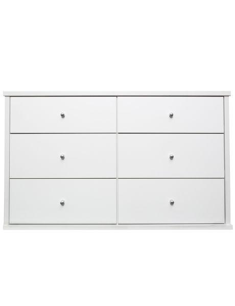Exclusive To Farmers The Sleek White Ryan Bedroom Furniture Range