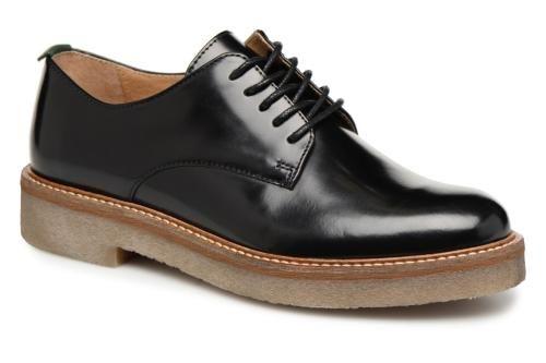 OXFORK détailpaire à vue Chaussures Kickers lacets Noir F1ucJTl3K