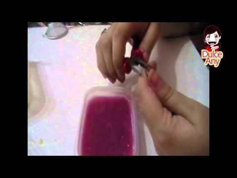 Cómo hacer pompas o burbujas de gelatina o grenetina para decorar . Jelly bubles - YouTube