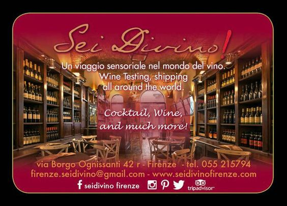 #seidivino #firenze #vino #degustazioni #winetasting dalle 15:00 fino a tarda notte  Tutti i giorni