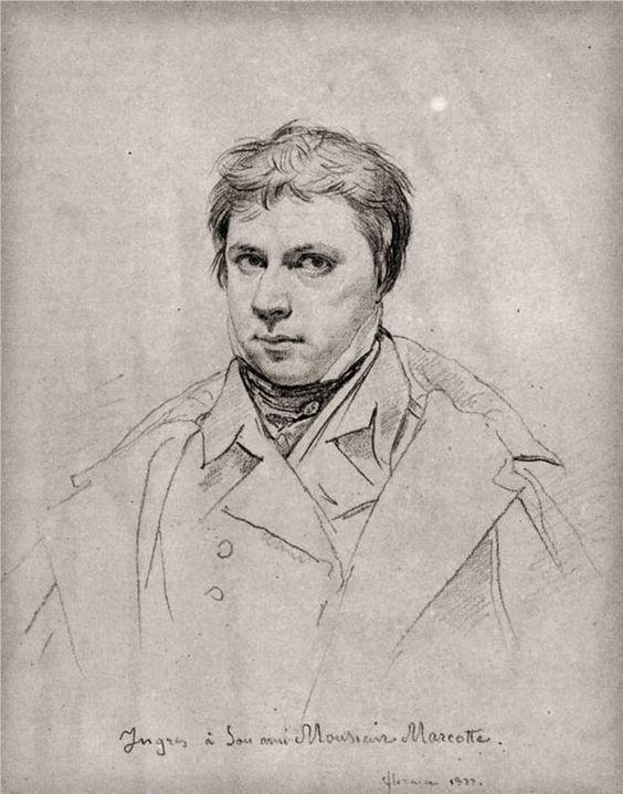 Self Portrait, Jean-Auguste-Dominique Ingres