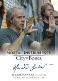 FIRST LOOK AT 'THE MORTAL INSTRUMENTS: CITY OF BONES' TRADING CARDS