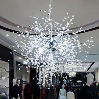 Lustre De Led Dandelion Moderno Pingente Fogos de Artifício Lâmpada Luz De Teto Home Decor