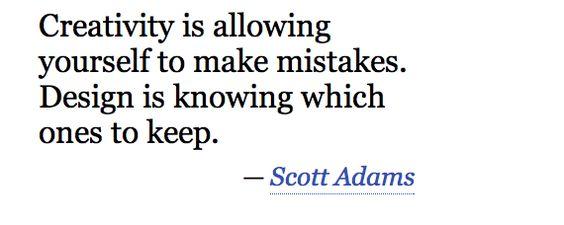 """El dibujante de """"Dilbert"""", Scott Adams entiende a la perfección en que consiste el proceso creativo."""