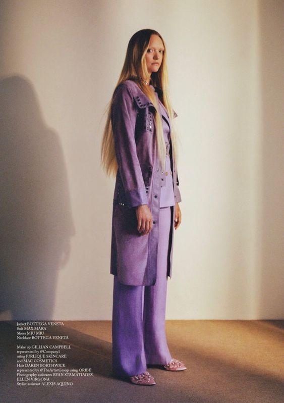 Gemma Ward Wears Whimsical Styles for Glass Magazine