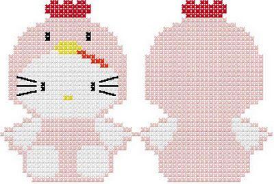 Llavero Hello Kitty Gallina