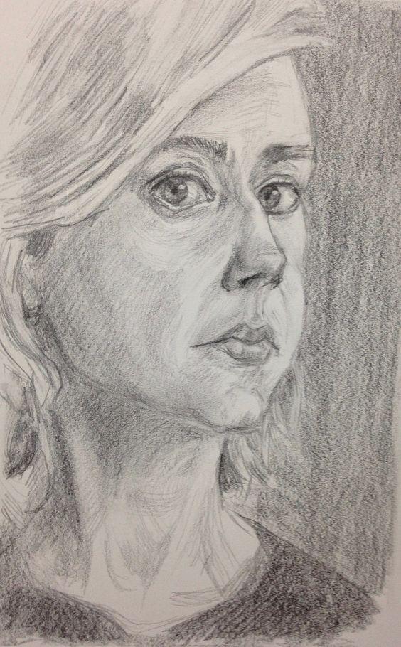 https://flic.kr/p/CvbQct   Liz   graphite  Liz for JKPP