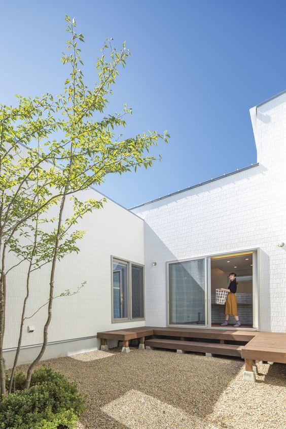 プライベートスカイを望むコの字の家#タカトーホーム (ホームページに施工事例が掲載されています↓)
