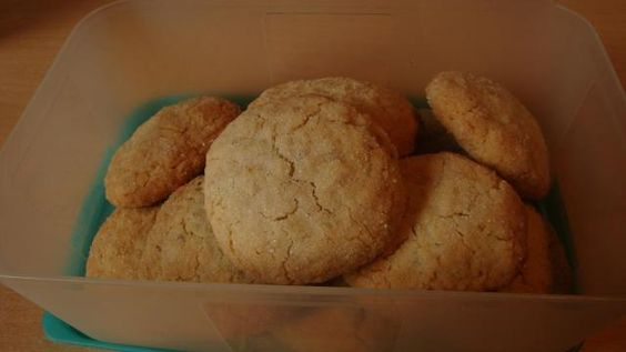 Mandelmus-Haferflockencookies