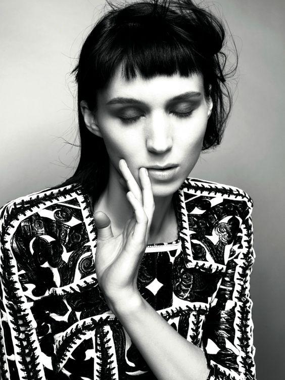 ROONEY MARA IN 'WHO'S THAT GIRL?' BALMAIN S/S 2012