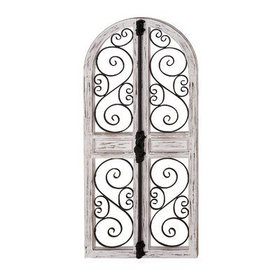 Ophelia Co Vicknair Wood Door Wall Decor Wayfair In 2020 Gate Wall Decor Arched Wall Decor Window Wall Decor