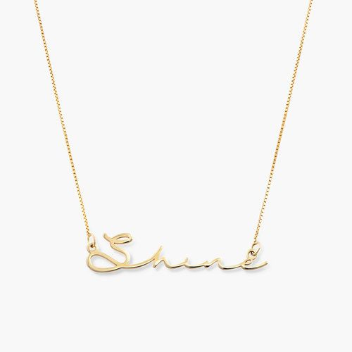 Mon Petit Name Necklace 10k Gold In 2020 Bar Stud Earrings Monogram Necklace Custom Name Necklace