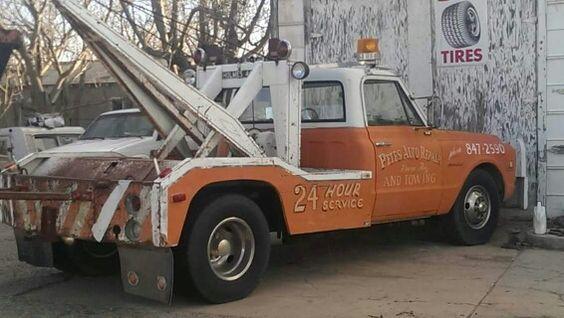 C10 old school wrecker
