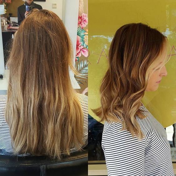 #beforeandafter Let's chop & define you! Freehand colour work & placement using Wella. 😀   @wellapro @cloudninehair @lovekevinmurphy   #theradicalhairdesign #hairbygemmabandiera