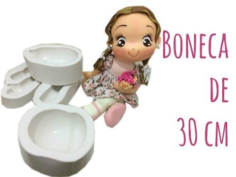 Boneca Fofa 30cm - Laura Biscuit - YouTube