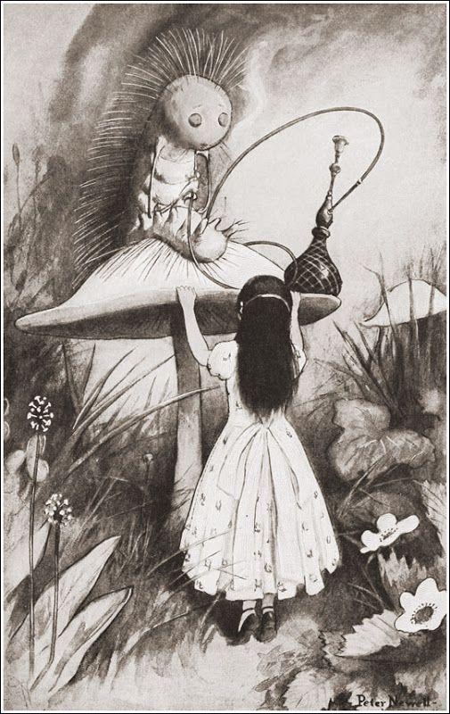 "Peter Newell «Алиса в стране чудес» | ""Картинки и разговоры"""
