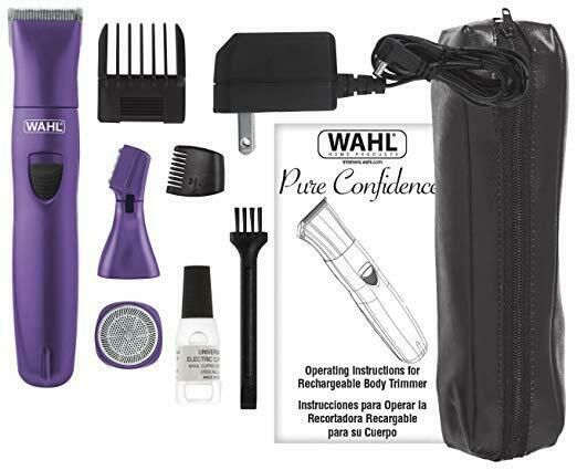 Ebay Sponsored Wahl Pure Confidence Purple Rechargeable Trimmer
