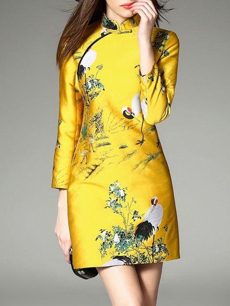 yellow dress h&m in ne york