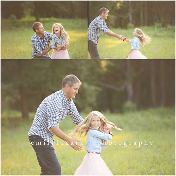 Dad and daughter photo idea. Saint Louis family photography