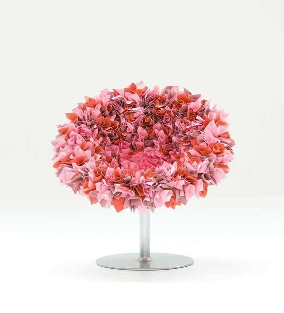 Moroso - Petit fauteuil Bouquet: