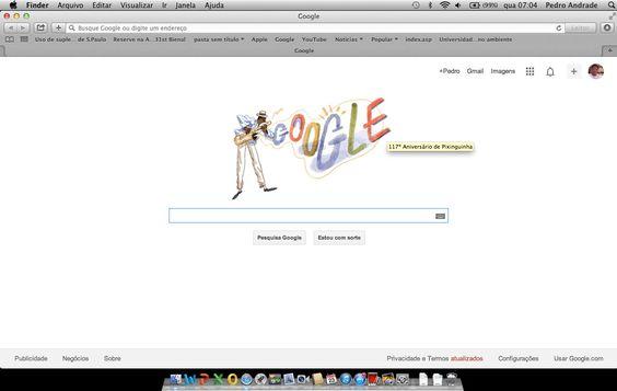 Google-Pixiguinha. Pixinguinha Gênio musical do Choro.