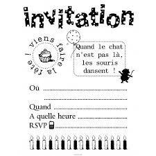 invitation anniversaire ado à imprimer