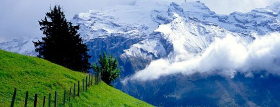 SWITZERLAND:- If you could travel through only one European country, which might you choose? Italy? France? Germany? How about a taste of three in one? That can only mean Switzerland!
